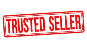 Trusted seller sign or stamp