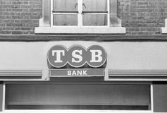 Trustee Savings Bank signage Stock Photos