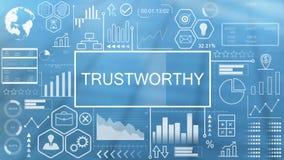 Trustworthy, Animated Typography