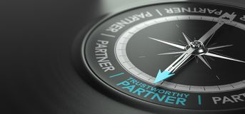 Trustworthy Partner, Strong Partnership Concept