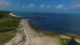Truteń antena long island wybrzeża linia zdjęcie wideo