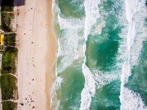 Truteń fotografia Barra da Tijuca plaża, Rio De Janeiro, Brazylia Obrazy Stock