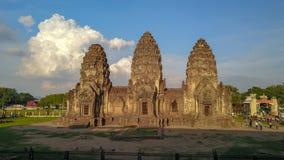 Truteń fotografie Phra Rozwalają Sam Yod pagodę Obraz Stock
