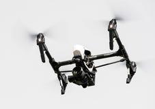 Truteń z 4K kamery lataniem zdjęcie royalty free