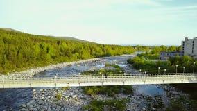 Truteń Lata Nad Rzecznym mostem zbiory