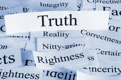 Truth Concept Stock Photography