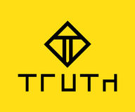 Truth Logo Design. Concept, AI 10 supported Royalty Free Stock Photo