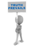 Truth prevails Stock Images