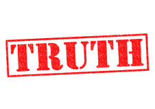 TRUTH Royalty Free Stock Photography