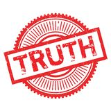 Truth stamp rubber grunge Stock Image