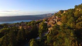 Trutnia widok Aiguines wioska zdjęcie wideo