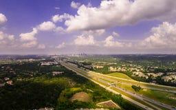 Trutnia widok autostrada Zdjęcia Royalty Free