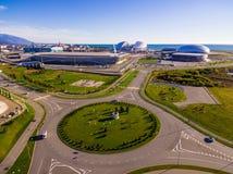 Trutnia widok Olimpijski park, Sochi, Rosja obrazy royalty free