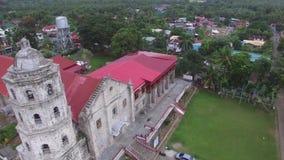 Trutnia widok z lotu ptaka Santa Maria Magdalena kościół Magdalene Farny Świątobliwy Maryjny Farny kościół także jest kościół rzy zbiory wideo
