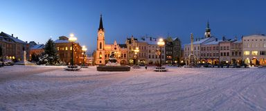 Trutnov city Royalty Free Stock Image