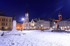 Trutnov in winter Royalty Free Stock Photo