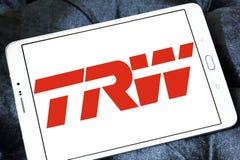 TRW-Automobillogo stockbilder
