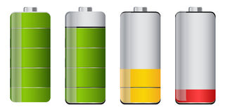 Trwałość baterii Zdjęcia Royalty Free