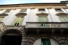 Trwający buduje Palladio w Vicenza w Veneto (Włochy) Zdjęcia Royalty Free