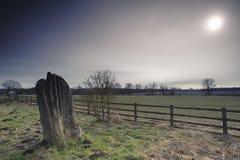 Trwanie kamień, Matfen Fotografia Stock