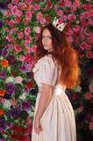 Trwanie portret princess fotografia royalty free