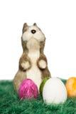 Trwanie Wielkanocny królik Zdjęcia Stock