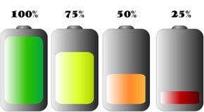 Trwałość Baterii Zdjęcia Stock