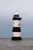 Trwyn Du lighthouse Royalty Free Stock Image