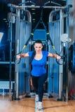 TRX sprawność fizyczna, sporty, ćwiczenie, technologia i Obrazy Stock