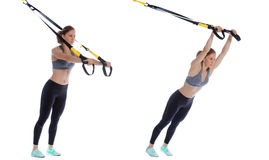 TRX standing roll out