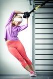 TRX szkolenie Fotografia Stock