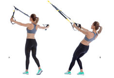 TRX T deltoid fly Royalty Free Stock Image