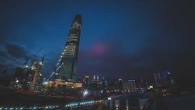 TRX Tun Razak Exchange oder Turm des Austausches 106 stockfoto