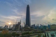 TRX Tun Razak Exchange oder Turm des Austausches 106 stockbilder