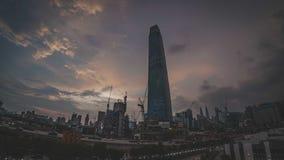 TRX Tun Razak Exchange oder Turm des Austausches 106 lizenzfreies stockbild