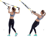 TRX W deltoid fly Royalty Free Stock Image