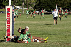 Try Again. Event:  2013 Rugby Championship, 08-12.X.13 Royalty Free Stock Photos
