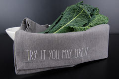 Try it Kale Royalty Free Stock Photo