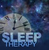 Try Sleep Therapy Now concept