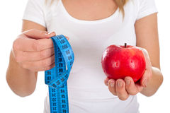 Free Try The New Apple-diet Royalty Free Stock Photography - 83858397