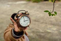 Try to use your time sensibly Royalty Free Stock Photo