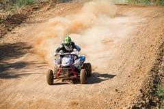 Tryasov Ivan 15, ATV-sport images stock