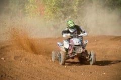 Tryasov Ivan 15, ATV-sport photos stock