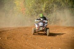 Tryasov Ivan 15, ATV-sport image stock