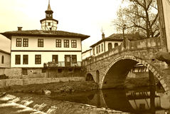 Tryavna the bridge of sighs Stock Image