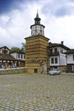Tryavna clock tower Royalty Free Stock Photos