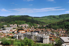 Tryavna overview Stock Photos