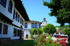Tryavna town old square,Bulgaria Stock Photo