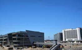 Trybuna i sqare budujący dla formuły 1, Sochi Obrazy Royalty Free