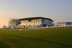 Trybuna przy Epsom Racecourse. Surrey. Anglia Obraz Stock